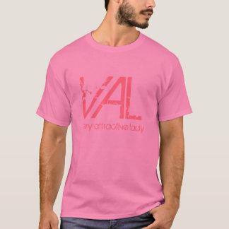 Camiseta VAL, senhora muito atrativa