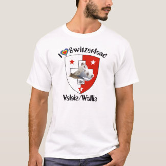 Camiseta Valais, Wallis Suisse alpargata/