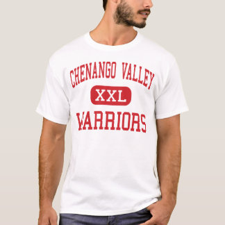 Camiseta Vale de Chenango - guerreiros - alto - Binghamton