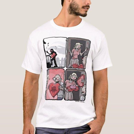 Camiseta Valentines zombie