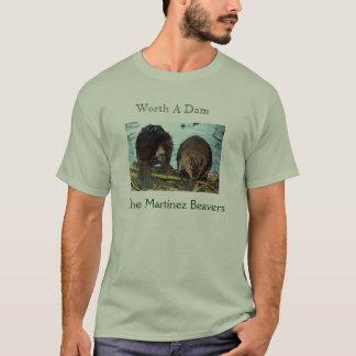 Camiseta Valor 2009 do Tshirt uma represa