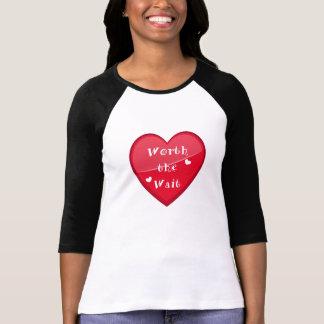 Camiseta Valor a espera - adopção - bebê novo