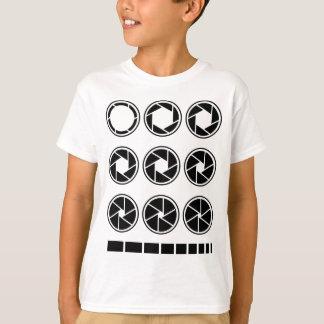 Camiseta Valor da abertura