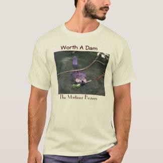 Camiseta Valor dos funcionarios uma represa