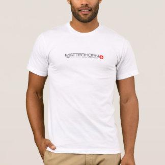 Camiseta VAM: T de Zermatt do suíço de Matterhorn