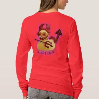 Camiseta Vampiro (bonito assustador) v2.0b Ducky