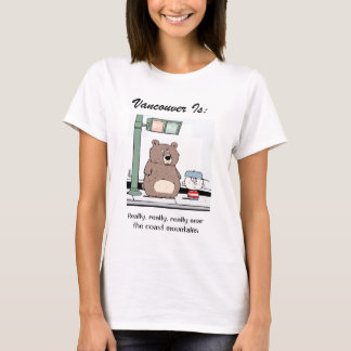 Camiseta Vancôver é: c - pelo harrop