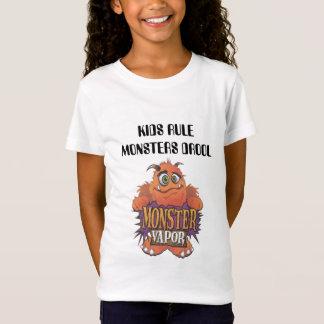 Camiseta vapor do monstro, DROOL dos MONSTRO da REGRA dos