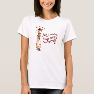 Camiseta Vaqueira bem comportada do rebelde do cigano