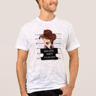 Camiseta vaqueiro da chihuahua - cão do xerife