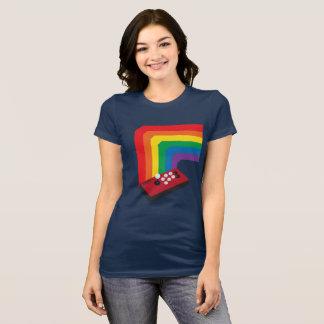 Camiseta Vara da luta do arco-íris