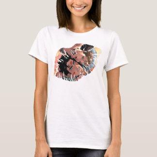 Camiseta Variação cómica do cobrir #11 do superman/mulher