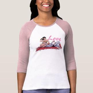 Camiseta Variação cómica do cobrir #14 do superman/mulher