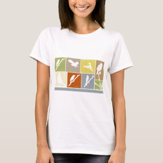 Camiseta Variedade do pássaro