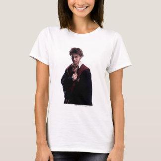Camiseta Varinha de Harry Potter aumentada