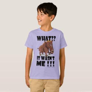 Camiseta Varrão mal-humorado - diz que não era ele