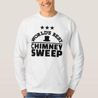Camiseta Varredura de chaminé do mundo a melhor