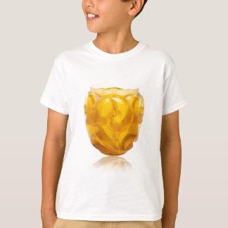 Camiseta Vaso amarelo do redemoinho do art deco