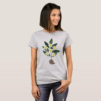 Camiseta Vaso do Plumeria