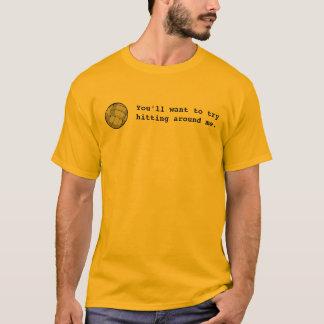 Camiseta vball que você quererá tentar bater em torno de