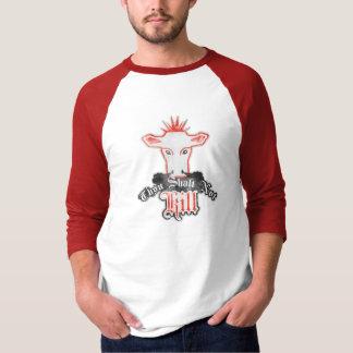 Camiseta Vegan do matar de Shalt de mil não