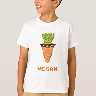 """Camiseta Vegan """"negócio com ele"""" cenoura"""