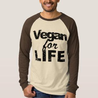 Camiseta Vegan para a VIDA (preto)