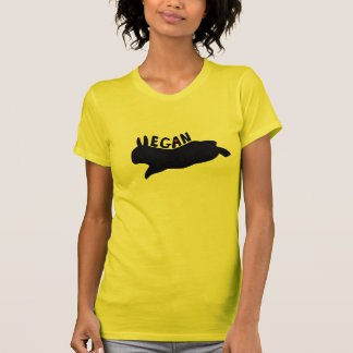 Camiseta Vegan que pula o coelho