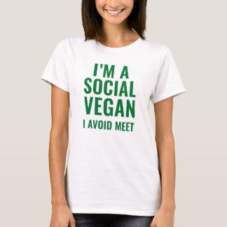 Camiseta Vegan social