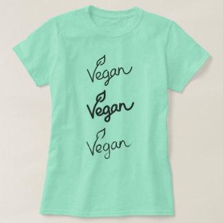 Camiseta Vegan verde da hortelã