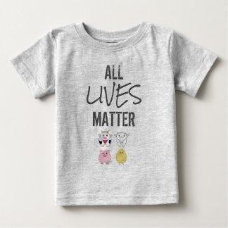 Camiseta Vegana - All LIVES matter