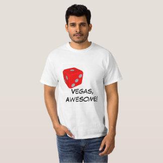 Camiseta Vegas, impressionante! /t-shirt dos dados