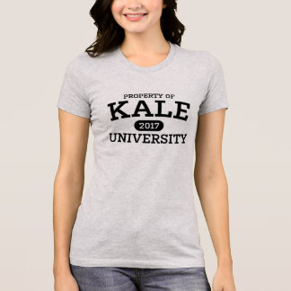 Camiseta Vegetariano do Vegan da universidade da couve
