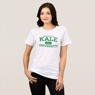 Camiseta Vegetariano do Vegan da universidade da couve