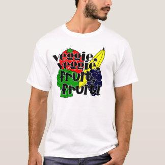 Camiseta Vegetariano do vegetariano, fruta da fruta!
