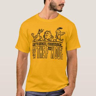 Camiseta Vegetarianos: Apenas vá