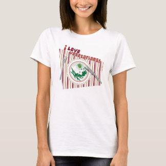 Camiseta Vegetarianos do amor
