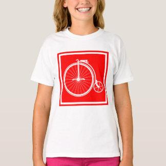 Camiseta Veículo com rodas alto do Farthing da moeda de um