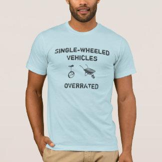 Camiseta veículos Solteiro-rodados