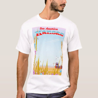 Camiseta Veja América! - Kansas