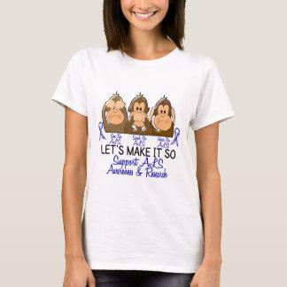 Camiseta Veja que para falar não ouça nenhum ALS 2