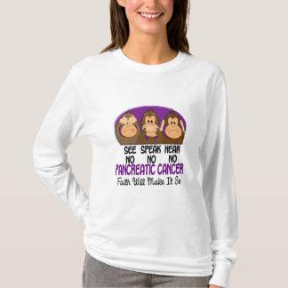 Camiseta Veja que para falar não ouça nenhum câncer de