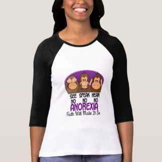 Camiseta Veja que para falar não ouça nenhuma anorexia 1
