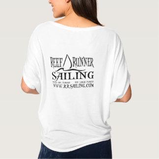 Camiseta Vela pequena na parte dianteira com do Web site