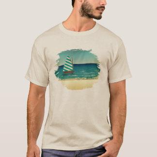 Camiseta Veleiro e mar
