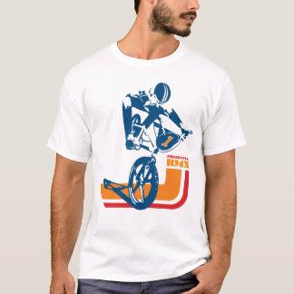 Camiseta velha de Skool BMX