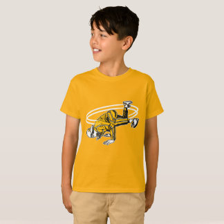 Camiseta Velha escola Hip Hop Breakdancer