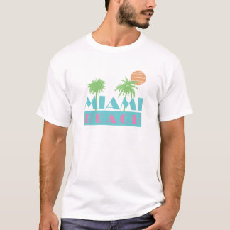 Camiseta Velha escola Miami Beach