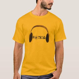 Camiseta Velha escola - Muffs da orelha