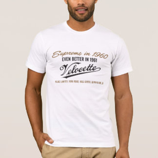 Camiseta velocette
